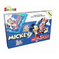 DISNEY MICKEY MONOPOLY GAME SET