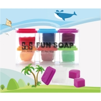 2 in 1 Colored Clay/Kids Body Soap